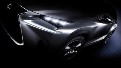 2015 Lexus NX SUV Teased Ahead Of Beijing Auto Show Debut