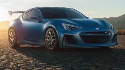 Subaru Reveals BRZ STI Performance Concept At New York