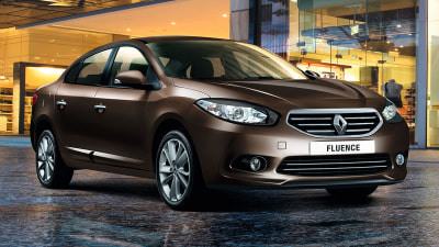 2013 Renault Fluence: Price And Features For Updated Sedan