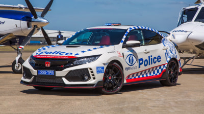 Honda's hot hatch joins NSW Police