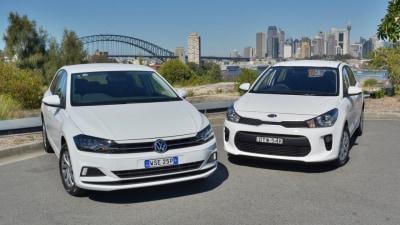 Kia Rio S v Volkswagen Polo 70TSI Trendline Comparison Test