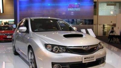 2008 Subaru Impreza WRX STi tested by Fifth Gear