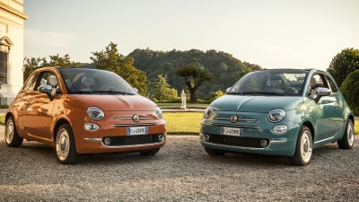 Fiat 500 Anniversario special edition revealed