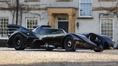"""Holy smokes Batman"" You can own a Batmobile for under $40,000"