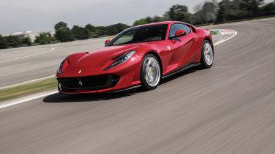Ferrari reveals hybrid future