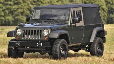 2009 Jeep J8 Multipurpose 4WD Enters Production