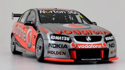 2010 TeamVodafone Triple Eight Racing Holden V8 Supercar Livery Revealed