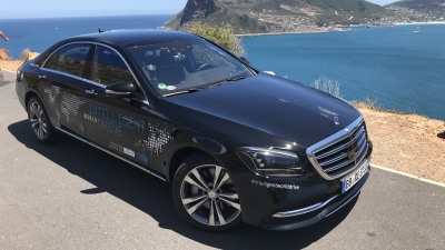 Exclusive: What we learned riding shotgun in a self-driving Mercedes