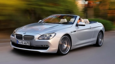 2012 BMW 6 Series Convertible: New Images, Late 2011 Australian Launch