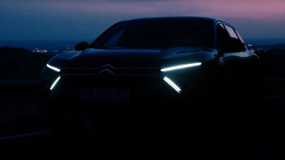 2021 Citroen C5 teased ahead of April 12 launch