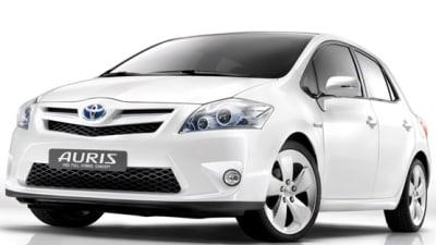 Toyota Auris HSD Hybrid Revealed Ahead Of Frankfurt