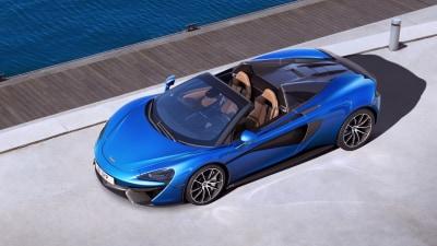 2017 McLaren 570S Spider Unveiled