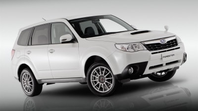 Subaru Forester S-Edition Concept Unveiled At Australian International Motor Show