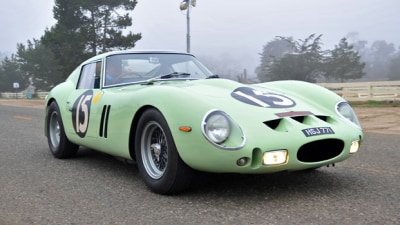 Stirling Moss GTO World's Most Expensive Car