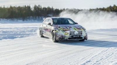 Mercedes-AMG A45 Passenger Ride