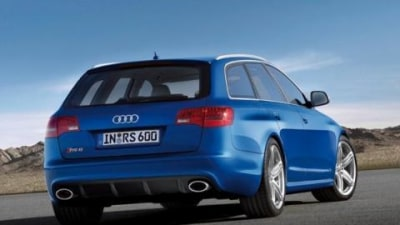 2008 Audi RS6 Avant in the flesh video