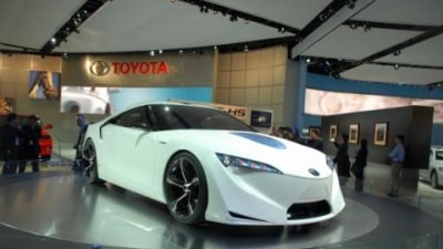 Toyota FT-HS basis for next Supra
