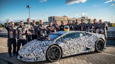 Lamborghini Huracan Performante Claims Nurburgring Production Car Record