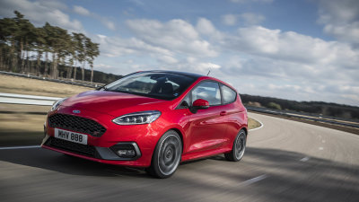 Ford Fiesta ST lives but...