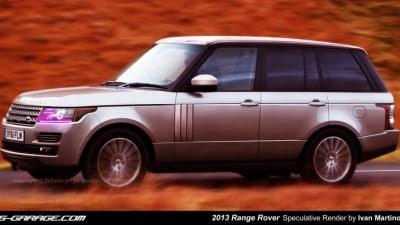 2013 Range Rover Rendered