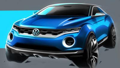 Volkswagen T-Roc SUV Concept Hits Geneva Motor Show