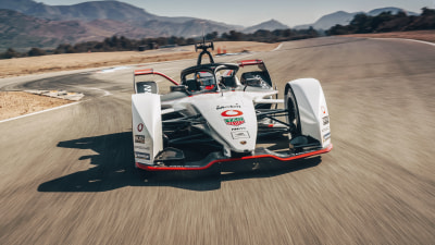 Porsche 99X revealed: Formula E racer takes shape