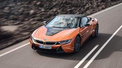 BMW i8 Roadster lands in Oz