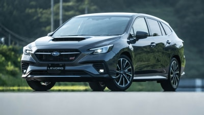 2022 Subaru Levorg likely to get WRX turbo power – and name – in Australia