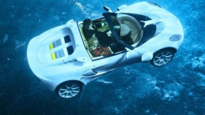 2008 Rinspeed sQuba underwater car video