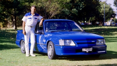 Peter Brock's own 1985 HDT VK SS Group A set to be the most expensive Aussie car sold
