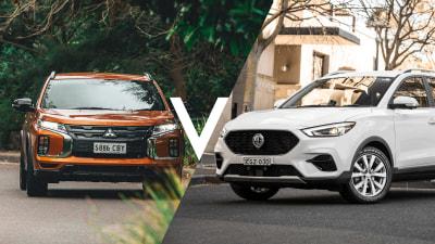 MG ZST vs Mitsubishi ASX