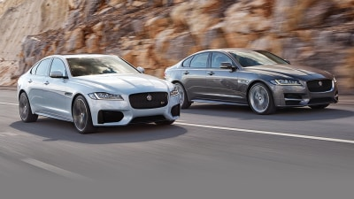 New Jaguar XF Revealed In New York, Due In Australia From Q1 2016