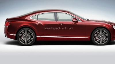 Bentley Planning Four-door Coupe: Report