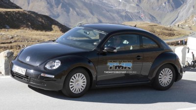 2012 Volkswagen Beetle To Debut At Shanghai: Report