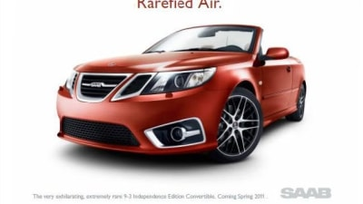 Saab 9-3 Independence Edition Surfaces Online