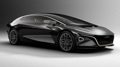 Aston Martin unveils autonomous, electric spinoff