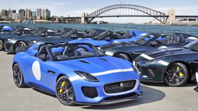 Limited Edition Jaguar F-Type Project 7 Now On Sale, 10 Only For Australia
