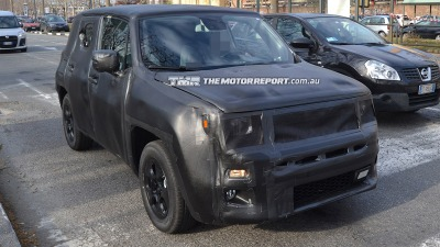Jeep 'Jeepster' Spied Testing
