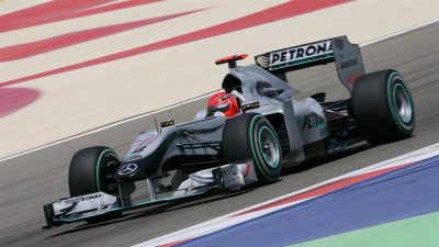 F1: Brawn Says Mercedes Not Out Of The Running Yet, Schu Still 'Serious Competitor' For 2010