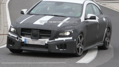 2013 Mercedes-Benz CLA Spied Testing
