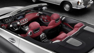 Mercedes-Benz Gives First Glimpse Of 2016 S-Class Cabriolet Interior
