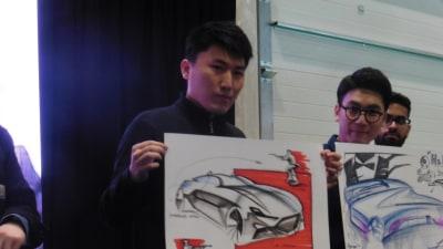 Art student designer sketch-off: Build James Bond's vehicle of the future