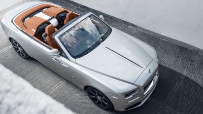 Rolls-Royce shows off limited-edition Dawn Silver Bullet
