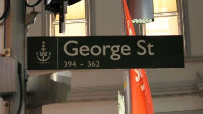 Sydney CBD Transformed As George Street Closures Begin