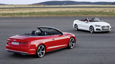 Audi Drops The Top On A5 Cabriolet In Detroit