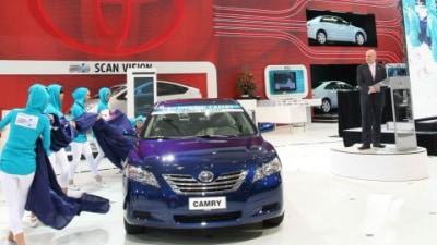Toyota Camry Hybrid Unveiled: 2008 Sydney Motor Show