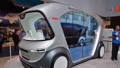 Bosch launches driverless electric shuttles