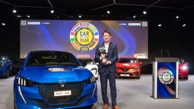 Peugeot 208 named 2020 European Car of the Year