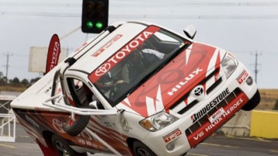 Timo Glock Hoons It Up In A Hilux