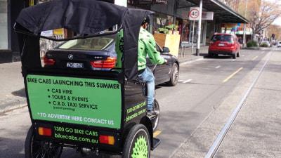 'Bike Cab' Rickshaws Proposed For Melbourne CBD